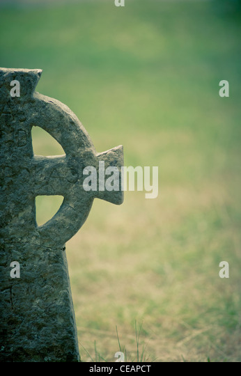 Old grave - Stock Image