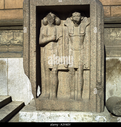 ancient art grave stele of a