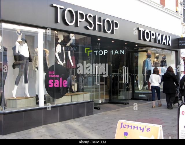 topshop franchise