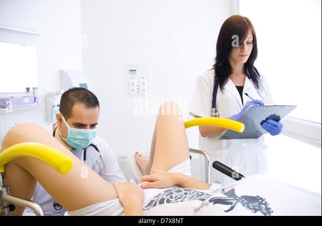 фото у гинеколога макро