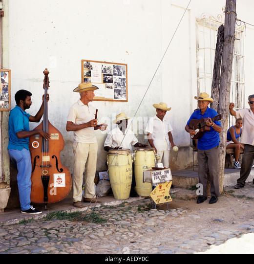 Jazz band Havana Cuba Caribbean - Stock Image