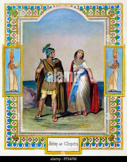 cleopatra vii and antony