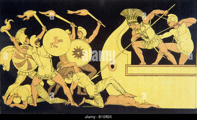 the impact of the gods intervention in the greek trojan war