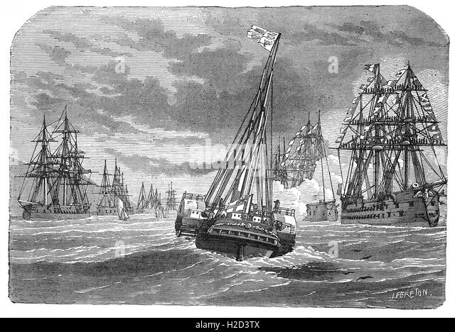 the ironclad a steam propelled warship of the 19th century