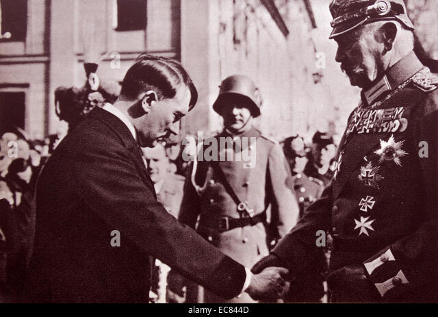 adolf hitler chancellor of germany in