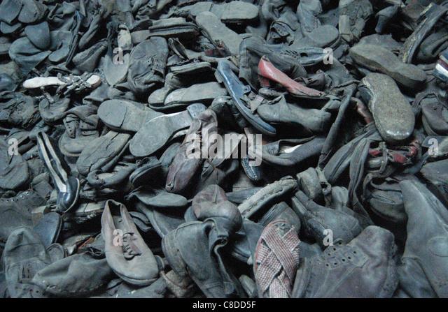 Shoes concentration camp auschwitz stock photos & shoes conc.