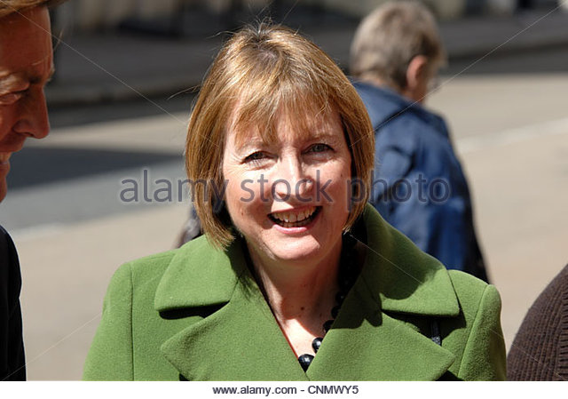 Exeter UK 11th April 2012  Shadow Deputy Prime Minister Harriet Harman visit the newly refurbished Royal Albert Museum Exeter. - Stock Image
