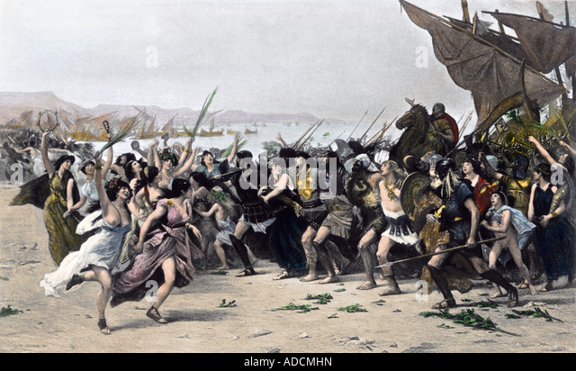 analyzing the battle of salamis essay