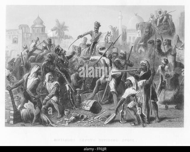 sepoy rebellion Indian mutiny, also called sepoy mutiny, widespread but unsuccessful rebellion against british rule in india in 1857–58 begun in meerut by indian troops (sepoys) in the service of the british east india company, it spread to delhi, agra, kanpur, and lucknow.
