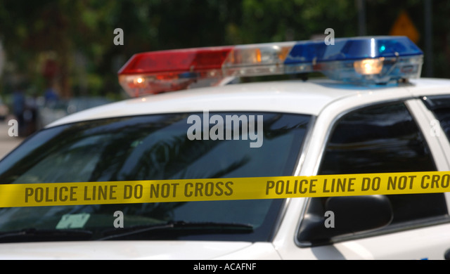 police-car-and-police-line-do-not-cross-