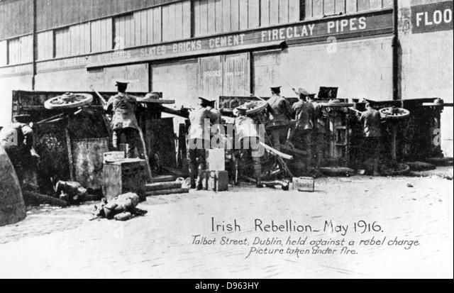 the irish easter rebellion 1916