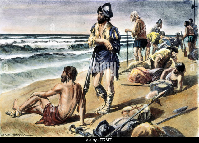 a look at cabeza de vaca and his expedition