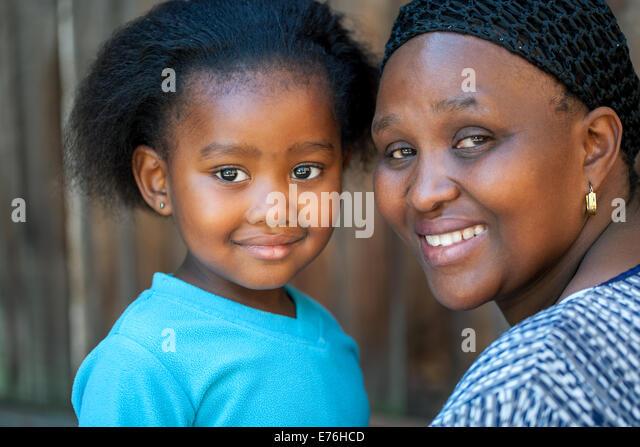 Smiling african girl