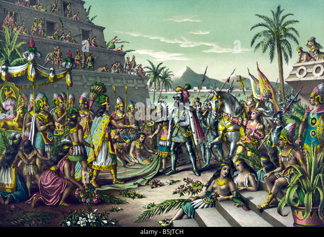 spanish mexico and tenochtitlan Barbara e mundy – tenochtitlan: transformation & endurance centres on tenochtitlan-mexico was it buried and reimagined as the new spanish colonial city of.