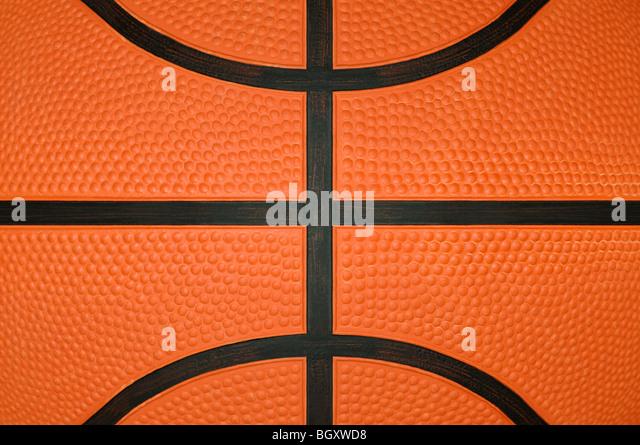 Basketball Close Up - Stock Image