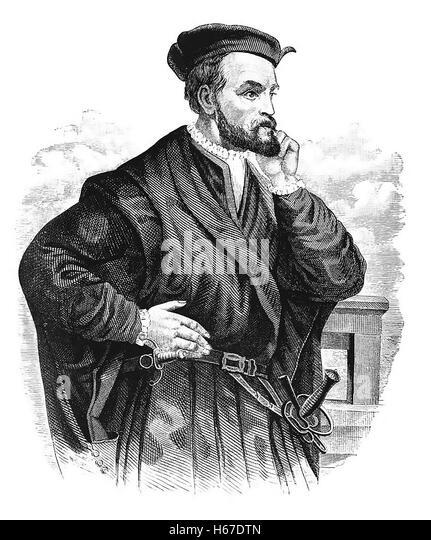 a biography of the explorer jacques cartier