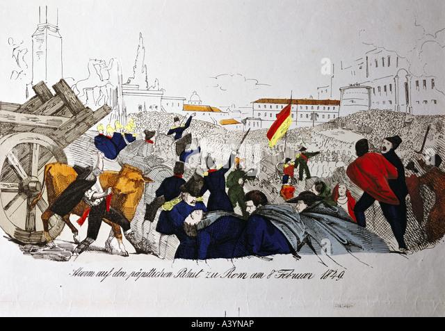 Основные события 1848 1849 в италии