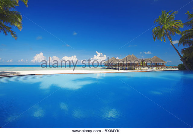 pool beach stock photos