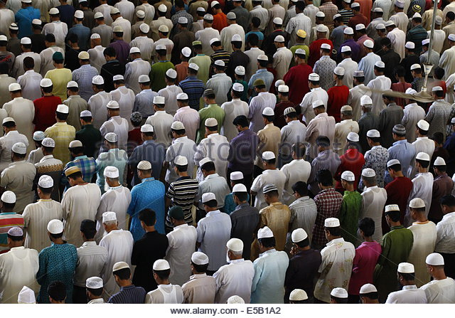 attending a muslim friday prayer as