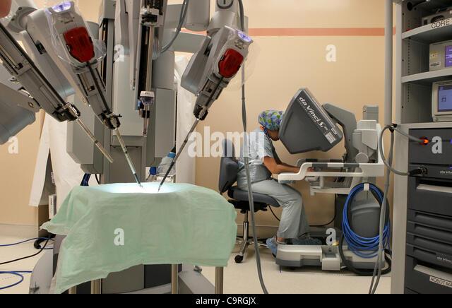 Feb. 8, 2012 - Oceanside - February 8, 2012, Oceanside, California, USA_ At Tri-City Medical Center Tessa Watkins - Stock Image