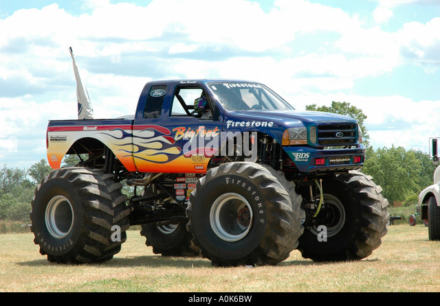 Bigfoot monster truck 2018