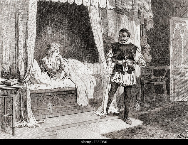 the depiction of the protagonist in othello a play by william shakespeare