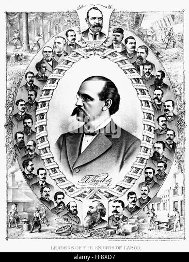 the similarities and differences of samuel gompers and terence powderly