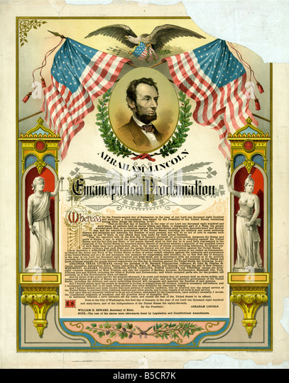 reputations of president abraham lincoln and his role to emancipation proclamtion