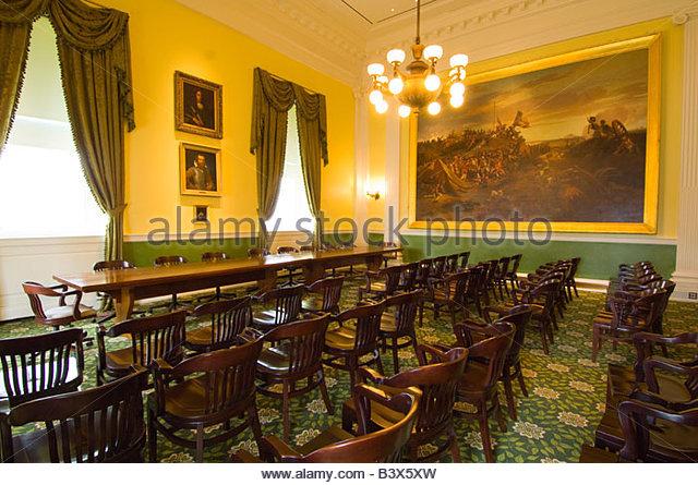 Senate dining room